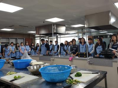연말신규공직자 떡갈비&감자크로켓 나눔 프로그램