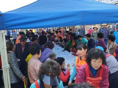 태안거리축제 사랑의 밥차 육계장 급식봉사(10. 12)