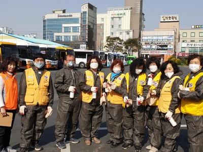 [코로나19 확산예방을 위한 소독봉사 릴레이현황